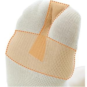 外反母趾予防 らくらくソックスM(2セット)ベージュ画像3