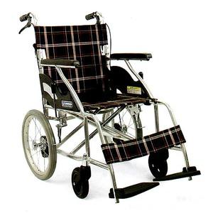 お急ぎの方用3 アルミ軽量車椅子 介助式【非課税】 - 拡大画像