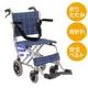 【消費税非課税】旅行用(介助式) アルミ車椅子 BA-t1 ブラウンチエック - 縮小画像1