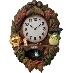トトロ時計シリーズ メイちゃんの振り子時計 - 拡大画像