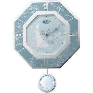 ディズニー時計シリーズ アナと雪の女王(振り子時計)