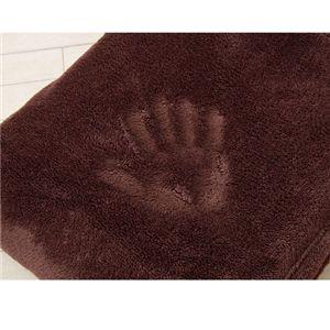 ふんわりマイクロファイバー毛布 シングル ブラウン