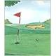 オリジナル絵本(ゴルフの本) - 縮小画像1