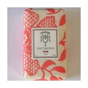 アースワークス・ソープ ローズの香り(EarthWorks Products)