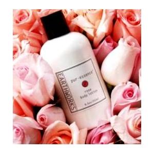 アースワークス・ボディーローション ローズの香り(EarthWorks Products) - 拡大画像