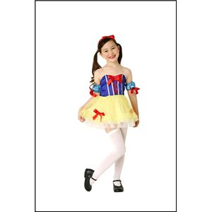 キッズ 白雪姫風ドレス