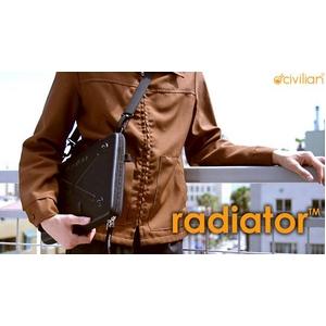 Mac専用ノートPCケース Radiator - 13 Black for MacBook 13