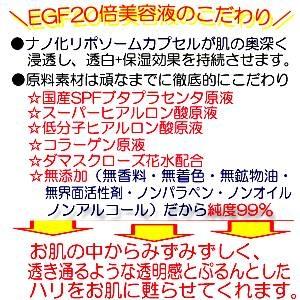 EGF美容液20倍