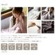 マイクロファイバー毛布/プレーン シングル ブラウン - 縮小画像4