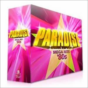 洋楽 オムニバス CDアルバム 『PARADISE MEGA HITS '80s -パラダイス-』 (CD5枚組 全90曲) - 拡大画像