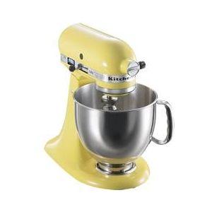 KitchenAid(キッチンエイド) キッチンエイド ミキサー KSM150-MYミキサーKSM150マジェスティックイエロー調理器ブランドKitchenAidのミキサー