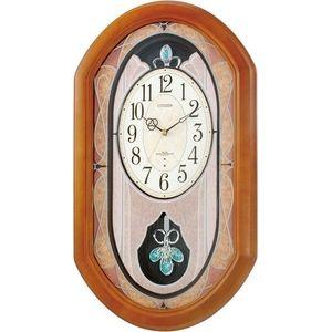 CITIZEN(シチズン) パルミューズM481 4MN481-006≪電波掛時計≫♪お部屋にそっとやすらぎを添えるアミュージングクロック♪