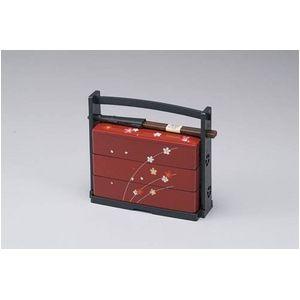 HAKOYA(ハコヤ) 野点弁当 赤桜 (6423) コレクション - 拡大画像