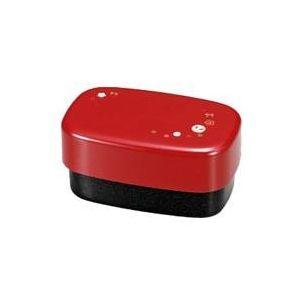 HAKOYA(ハコヤ) Ag スクウェアコンパクト 赤ビー玉うさぎ (51226) μ-func(ミューファン)  - 拡大画像