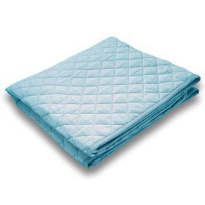 クールレイ(R) パッドシーツ シングル ブルー 綿100% 日本製