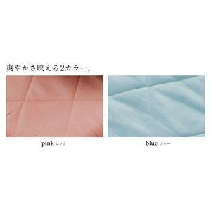 クールレイ(R) パッドシーツ セミダブル ブルー 綿100% 日本製