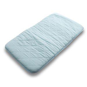 クールレイ(R) お昼寝マット ブルー 綿100% 日本製