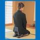 背もたれ付 らく座椅子 弔事兼用 - 縮小画像2