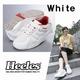 エクササイズウォーキングをサポート ウォーキングシューズ Heeles(ヒーレス) ウォーカー ホワイト 23.5cm - 縮小画像1