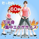 アクティブスライド 【折りたたみフィットネス器具/下半身エクササイズマシーン】