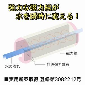 磁気活水器 アクアハーモニー ピンク