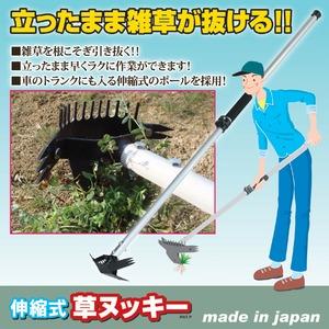 伸縮式草取り道具/草ヌッキー 【伸縮タイプ】 ...の紹介画像2