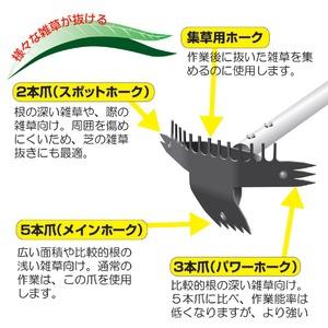伸縮式草取り道具/草ヌッキー 【伸縮タイプ】 ...の紹介画像4