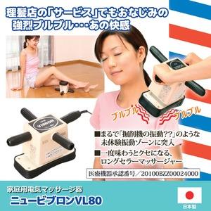 家庭用電気マッサージ器 「ニュービブロン」 強弱2段階切替可