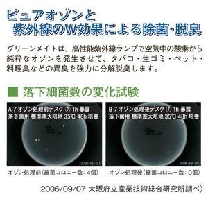 超小型高性能 空気除菌脱臭器 「グリーンメイト...の紹介画像4