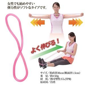 フィットネス器具/アクティブパワーフープソフト 【サークル(輪)タイプ】 直径36cm