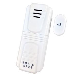 防犯ドアアラームコンパクト 乾電池式 ON/OFFスイッチ付き (屋内用)