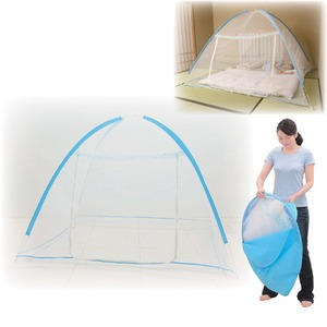 NEW軽涼ワンタッチ蚊帳【ビッグサイズ】キャリーバッグ/ファスナー付き