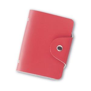 カードケース ポケット16箇所付き スカーレット(緋色)