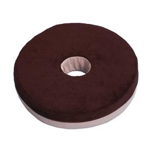 円座クッション 円楽さん 直径40cm メッシュ素材使用 - 拡大画像