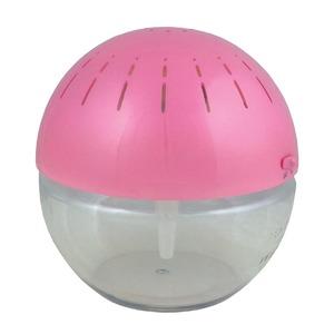 空気清浄機 ウォータークリーン フィルター不要 LED照明/安全機能付き パールピンク