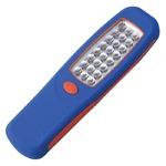 LEDハンディワークライト 【マグネット/フック付き】 24灯/単3乾電池式 (災害用備品/アウトドア/キャンプ)
