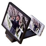 折りたたみ拡大鏡/スマホ大画面化スタンド「スマホ拡大スクリーン」