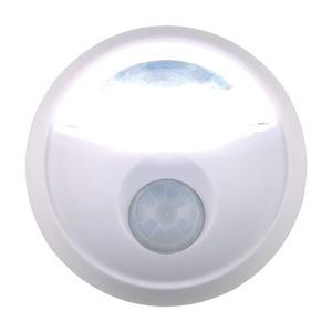 LEDセンサーライト(LED照明)乾電池式/角度調節可/オートモード付き(玄関/廊下/階段)