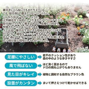 アプローチモス/雑草除け 【内容量:15L】 ...の紹介画像3