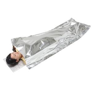 防寒シュラフ/寝袋 【専用枕付き】 アルミ蒸着...の紹介画像5