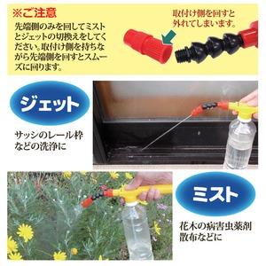 ペットボトル専用 2WAY加圧スプレー
