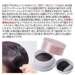 ヘアカラーファンデーション/白髪ケア 【ダーク...の紹介画像3