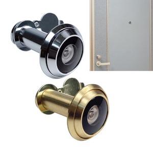 超広角・空転式ドアスコープ180 ゴールド - 拡大画像