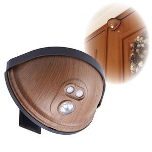 ドア用センサーライト 木目タイプ