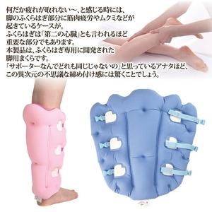 サクラ咲く足まくら EVOLUTION(両足セット) ブルー
