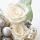 """メッセージ・プリザーブド★シャイニー・クリスマス★(シルバー色)""""Happy Wedding"""" - 縮小画像3"""