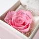 """メッセージ・プリザーブド★プチローザ(ピンク色BOX)★""""Happy Wedding"""" - 縮小画像2"""