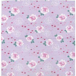 四季のクロス 薔薇 紫 - 拡大画像