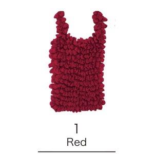 EC‐1絞バッグ小 Red