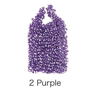 HAM−9絞りバッグ Purple